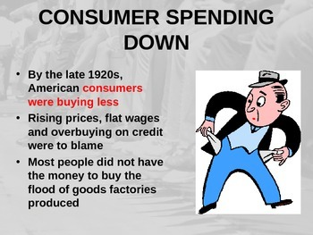 Causes of the Great Depression Power point
