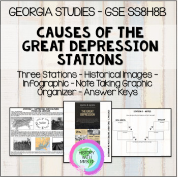 Causes of the Great Depression in Georgia -  Stations - SS8H8b GSE