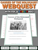 Causes of the Holocaust - Webquest with Key (Google Docs Included)