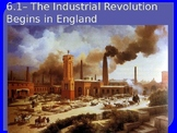 Causes of the Industrial Revolution Power Point