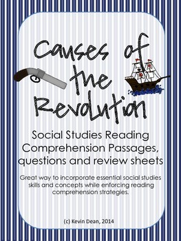 Causes of the Revolution Reading Packet