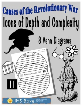 Causes of the Revolution Venn Diagrams Icons of Depth and