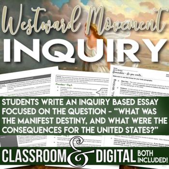 Westward Movement Inquiry Was the U.S. Destined to Move Westward?