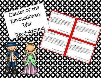 Causes of the Revolutionary War Read-Around