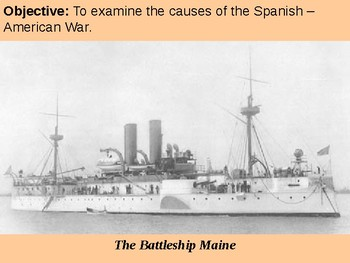 Causes of the Spanish-American War PowerPoint Presentation