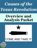 Causes of the Texas Revolution Activities