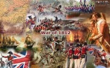 War of 1812 Causes--3 Way Venn Diagram activity and presentation