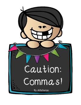 2.L.2b Caution, Commas! Activity Pack
