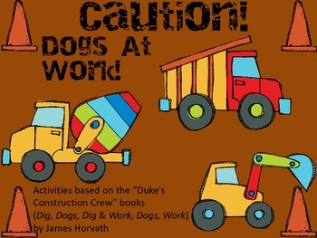 Caution!  Dogs At Work