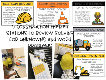 Caution: Word Problems Under Construction