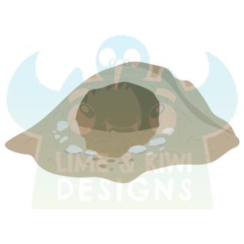 Cave Bats Clipart, Instant Download  Vector Art, Commercial Use Clip Art