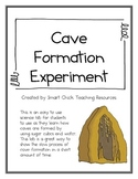 Cave Formation Lab with Sugar Cubes, Clay and Water