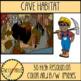 Cave Habitat Clip Art