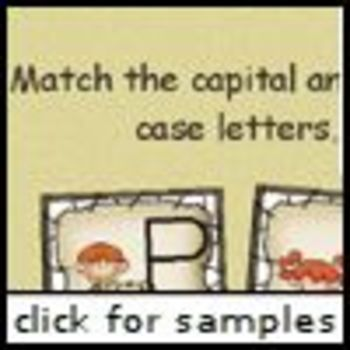 Caveman ABC Matching