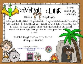 Caveman Climb- A Noun Identifying Cover Game