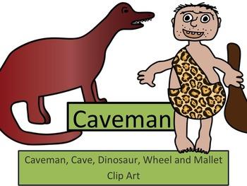 Caveman Clip Art