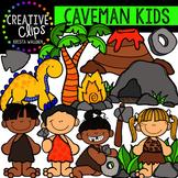 Caveman Kids {Creative Clips Clipart}