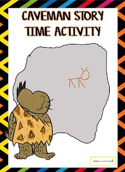 Caveman Story Time Activity