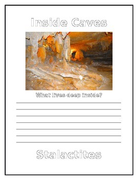 Caves Notebook Pages