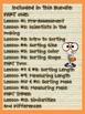 Cavorting and Sorting Bundle! {Kindergarten Common Core Science}