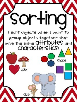 Cavorting and Sorting Part 1 {Kindergarten Common Core Science}