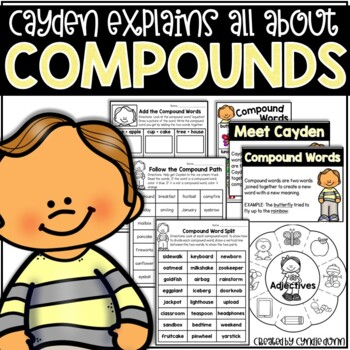 Compound Words Activities by Chalk One Up for the Teacher | TpT