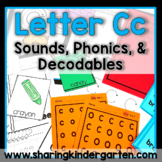 Letter Cc {Print & Play Pack}