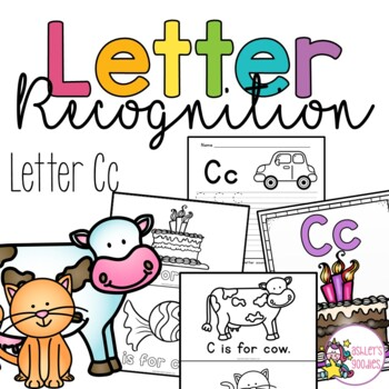 Cc Letter Recognition Worksheets
