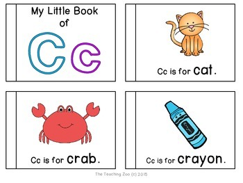 Letter of the Week Emergent Readers - Letter C