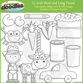 C Short and Long Vowel