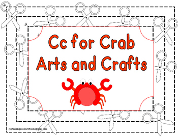Cc is for Crab Arts and Crafts