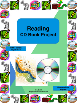 Novel Study: CD Book Project