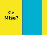 Cé Mise (Guess the Celebrity) Editable