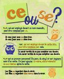 Homophones en français: se ou ce