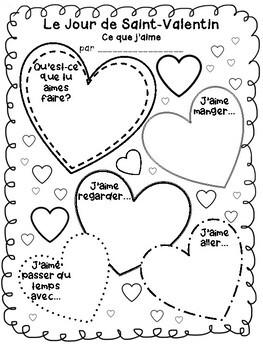 Ce que j'aime | Le jour de Saint-Valentin