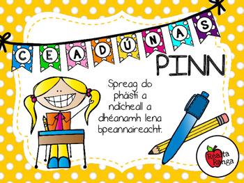 Ceadúnas Pinn - Ag Feabhsú Peannaireachta // Pen Licence - Improving Handwriting