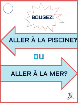 Ceci ou Cela - French Game of 2 Extremes Ice-breaker Activity