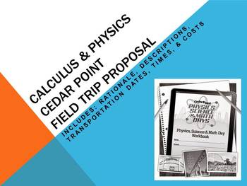Cedar Point Trip Proposal
