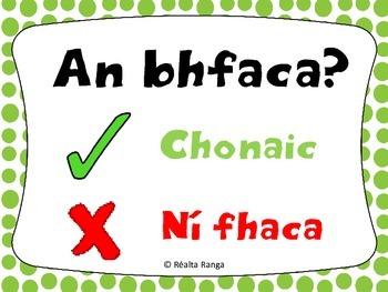 Ceisteanna Comónta as Gaeilge & freagraí // Common Questions in Irish & answers