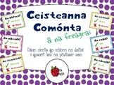 Ceisteanna Comónta as Gaeilge & freagraí // Common Questio