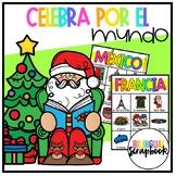 Celebra por el Mundo (Holidays Around The World Vocabulary in Spanish)