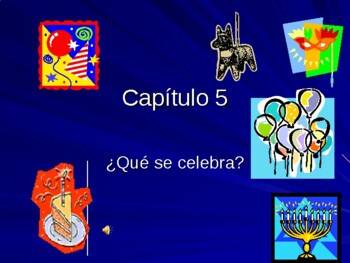 Celebraciones Asi se Dice Vocabulary