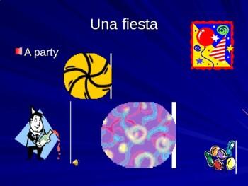 Celebraciones Asi se Dice Vocabulary