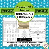 Celebraciones y Relaciones Breakout EDU Puzzles