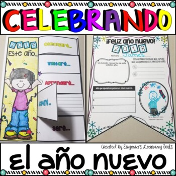 Celebrando el Año Nuevo - New Year's Activities in Spanish