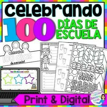 Celebrando 100 dias de escuela