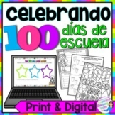 Celebrando 100 dias de escuela -100 Days of School Activities, in Spanish