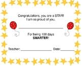 Celebrate 100 Days Certificate