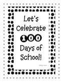 Celebrate 100 Days of School!