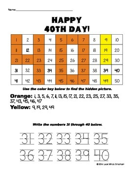 40th Day of School